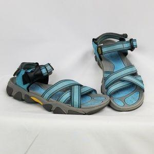 KEEN adjustable strap sandals, size 6